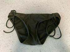 New listing green side tie lined MOSSIMO  swim suit bikini bottom size medium