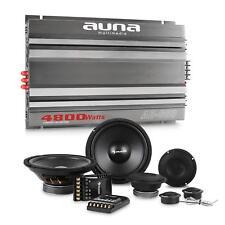 Auna coche centro Spekaer set HiFi 6 canal amplificador subwoofer 4800w mando