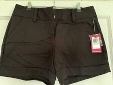 Vince Camuto Black Dress Shorts NWT Size 8
