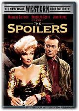The Spoilers DVD New Marlene Dietrich, Randolph Scott, John Wayne