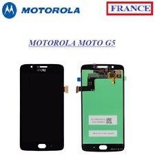 Écran COMPLET LCD + VITRE Tactile Motorola Moto G5 Noir