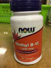 Now Foods METHYL B-12 1000 mcg 100 Lozenges, Nervous System Health FREE SHIP!A69