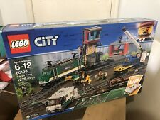 LEGO City Cargo Train 60198 : Remote Control Train Building Set w/ Tracks NEW