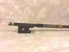 Vintage Adolph Berger Violin Bow 8 Sided Shaft Germany