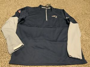 Nike New England Patriots Therma On Field  Pullover 2020 Men's Size: 2XL NWT