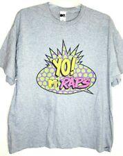 Yo! MTV Raps Gray Logo T-Shirt 2XL Mens T Shirt with Tag.