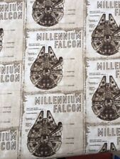 'Star Wars' Millenium Falcon FQ Fat Quarter  100% Cotton