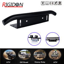 "23"" Front Bumper License Plate Bull Bar Mount Bracket Holder Offroad Light Bar"