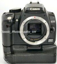 Canon EOS 350D 8MP Fotocamera Digitale Reflex + Battery Grip + cinghia Borsa + Scheda di memoria
