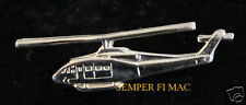 BELL 214 GOLDSX PLATED HAT LAPEL PIN HELICOPTER HELO MADE IN US PILOT CREW GIFT