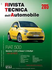 Manuale tecnico per la riparazione e la manutenzione dell'auto - FIAT 500
