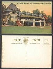 Old Canada Postcard - Niagara Falls, Ontario - Queen Victoria Park Restaurant