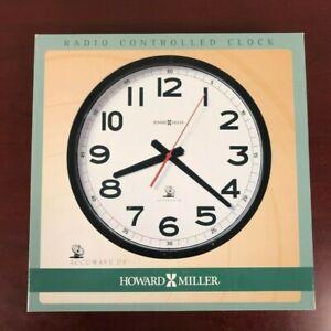 HOWARD MILLER ACCUWAVE II WALL CLOCK 625-205 – 324200389518