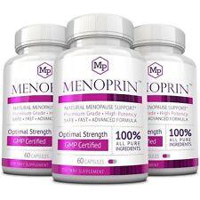 Menoprin - Natural Menopause Relief - Menopause Treatment (3 Bottles - Day)