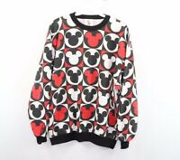 Vintage 80s Disney Mens Medium Mickey Mouse Andy Warhol Crewneck Sweater USA