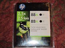 HP 88XL Black Ink Cartridge Twin Value Pack CC605BN Date May 2012
