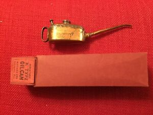 Meccano K Type Oil Can Very Good In Repro Box Ideal For Hornby trains dublo