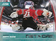 10/11 SCORE NET CAM #20 ANTTI NIEMI SHARKS *9034