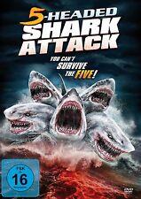 CHRIS/SAWYER,LINDSAY BRUNO - 5-HEADED SHARK ATTACK (UNCUT)   DVD NEU