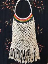 Bali Beach Knit Bag