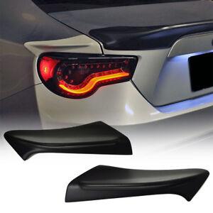 #AU 2018 Fit For TOYOTA GT86 SUBARU BRZ FR-S Rear Side Trunk Spoiler Unpainted