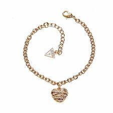 Guess UBB21595-S Women's Gold Pendants Bracelet