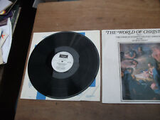 St JOHN'S COLLAGE CAMBRIDGE  // THE WORLD OF CHRISTMAS VINYL LP  SPA A 164