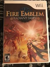 Fire Emblem: Radiant Dawn Nintendo Wii Tested Great Condition Free Shipping!!!