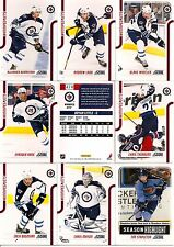 2011-12 Panini Score Glossy Winnipeg Jets Complete Master Team Set (16)