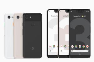 Google Pixel 3XL - 64GB/128GB - Pink / Black / White - Verizon+GSM Unlocked