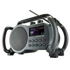Audisse Netbox WLAN Internet Baustellen Radio, DAB+ UKW, Bluetooth, USB, App