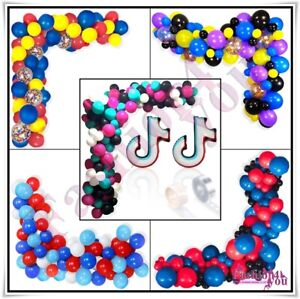 Balloons Arch Kit Balloon Garland Set for Birthday Party Wedding Baby Shower
