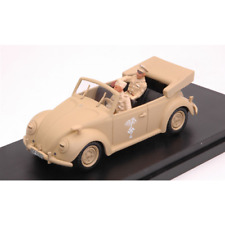 VW AFRIKAKORPS LIBIA 1941 WITH FIGURES ROMMEL + DRIVER 1:43 Rio Rio Die Cast