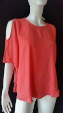 HALLHUBER Bluse flamingo schulterfrei Gr. 40--UK12**NEU