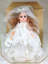 "WORLD DOLL ""WEDDING DAY"" CROWN PRINCESS BRIDE DOLL 1986 NIB NEVER DISPLAYED!"