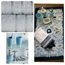 Strass Coton 1600gsm Tapis de bain 50 x 80 cm-disponible en noir ou blanc