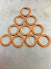 M8 8mm Crush Copper Washers Qty10