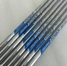 Set of 8 x Ns Pro Zelos 7 Regular Golf Shaft 3-PW Lightweight 74g