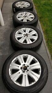 """265 55 R19 Mercedes 4x ML GL W164 X164 19"""" Alufelgen Winterreifen Winterräder"""