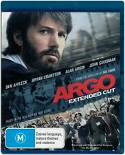 """ARGO: Extended Cut"" Blu-ray - Region [B] NEW"