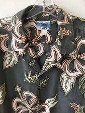 Hawaiian Shirt Co. Vintage Camp Hawaiian Shirt Island Floral Men's 2XL
