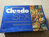 Cluedo SFX, Electronic Talking Board Game, By PARKER 2003 100% Complete.