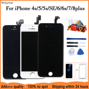 AAA+++LCD Display For iPhone 6 7 8 6S Plus Touch Screen Replacement with GIFT