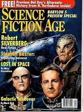 SCIENCE FICTION AGE Magazine Sept 1997 - Babylon 5 Preview Special - Free Book