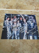 LOST IN SPACE signatures 8x10 Photo 6 SIX CASR AUTOGRAPHS