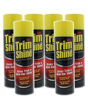 Stoner 91034 Car Care Trim Shine Aerosol - 12 oz. (6 Pack)