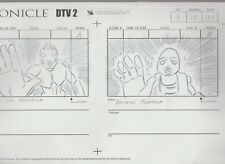 2003 Lego Bionicle Dtv2 2-Panel Storyboard Sequence 14x8.5 A-3 S-28 P-18A-24