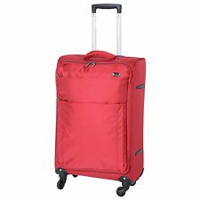 Lightweight Unisex Adult Synthetic Suitcases