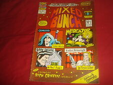 MIXED BUNCH #1 Bryan Talbot Mal Burns Luther Arkright UK Brainstorm Comix 1976