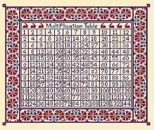 Times Table - Long Dog Samplers - New Chart